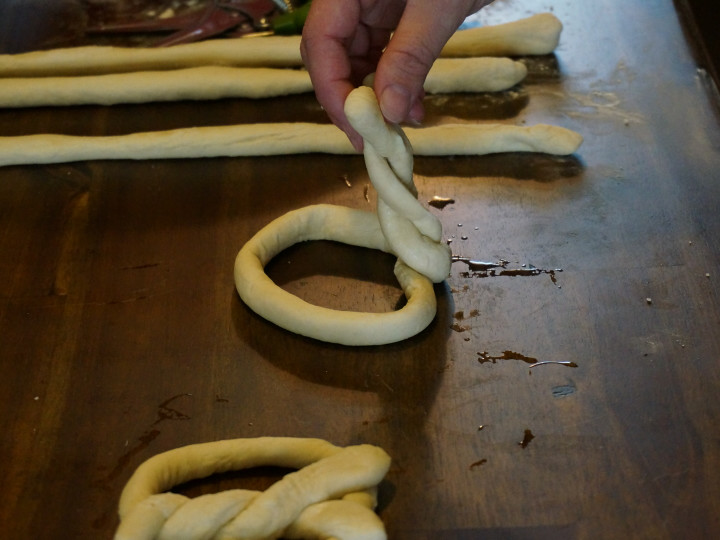 Asiago Cheese Soft Pretzels