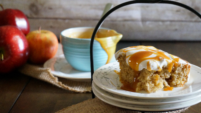 Apple Butterscotch Caramel Cake3