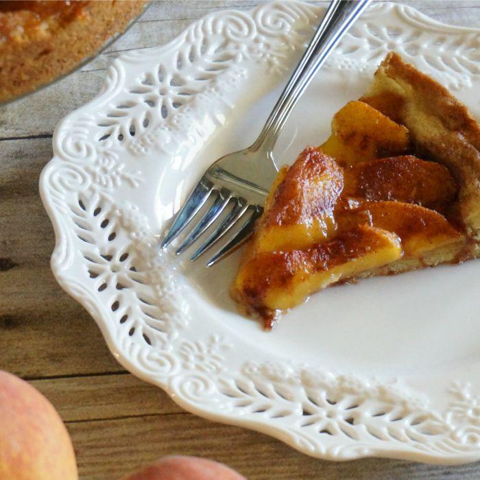 peachkuchenslice