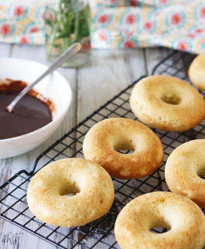 Chocolate Glazed Orange Donuts