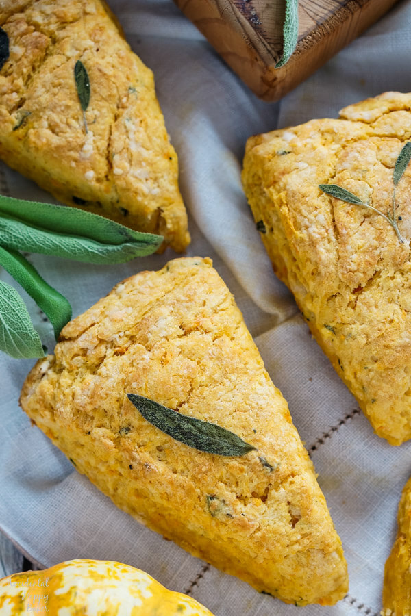 Sweet Potato and Sage Scones
