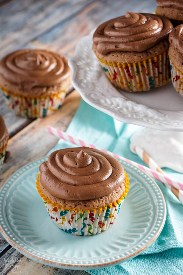 Spiced Nutella Cupcakes
