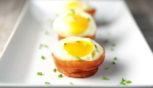 Prosciutto Cheese Egg Cups